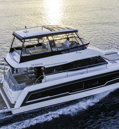 06-Fountaine Pajot MY5 - Power Catamaran-8