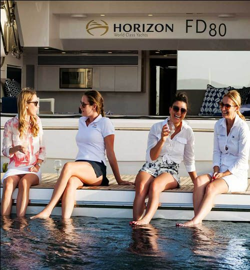 Horizon FD80 beach club