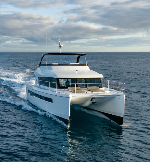 Bridge Deck Clearance - Iliad 50 Power Catamaran