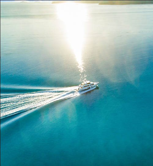Ocean Alexander 88 running