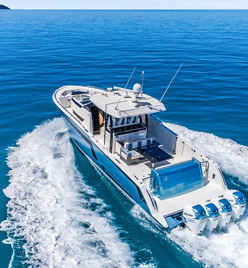 1400 hp Ocean Alexander 45 Divergence