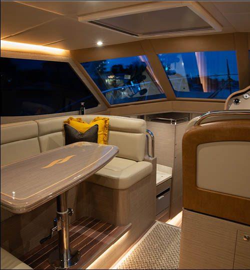 Whitehacen harbour classic 40 interior